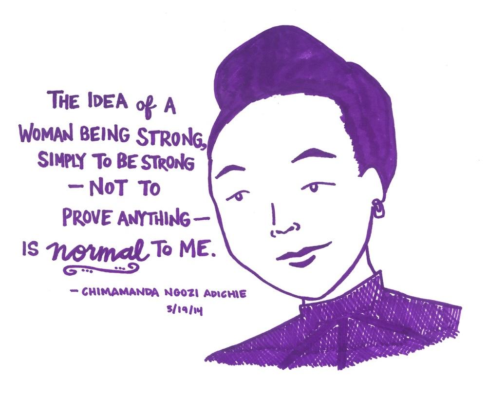 Chimamanda says...